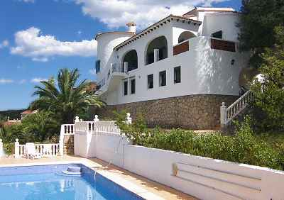 Great Holiday Villa For Rent Denia